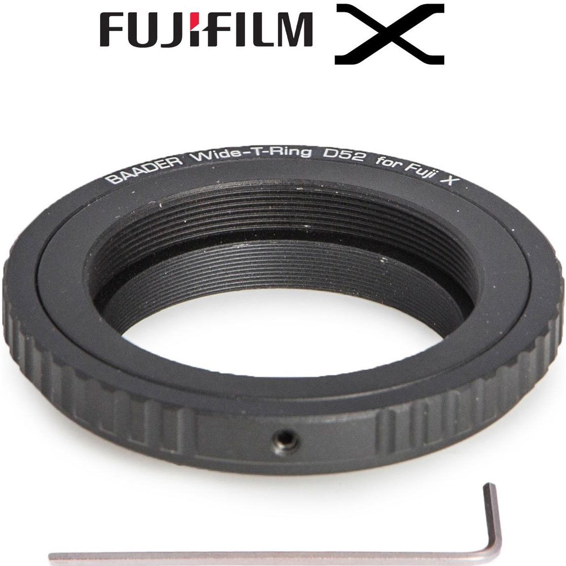 Bague adaptatrice S52 / T2 pour Fujifilm X - Baader