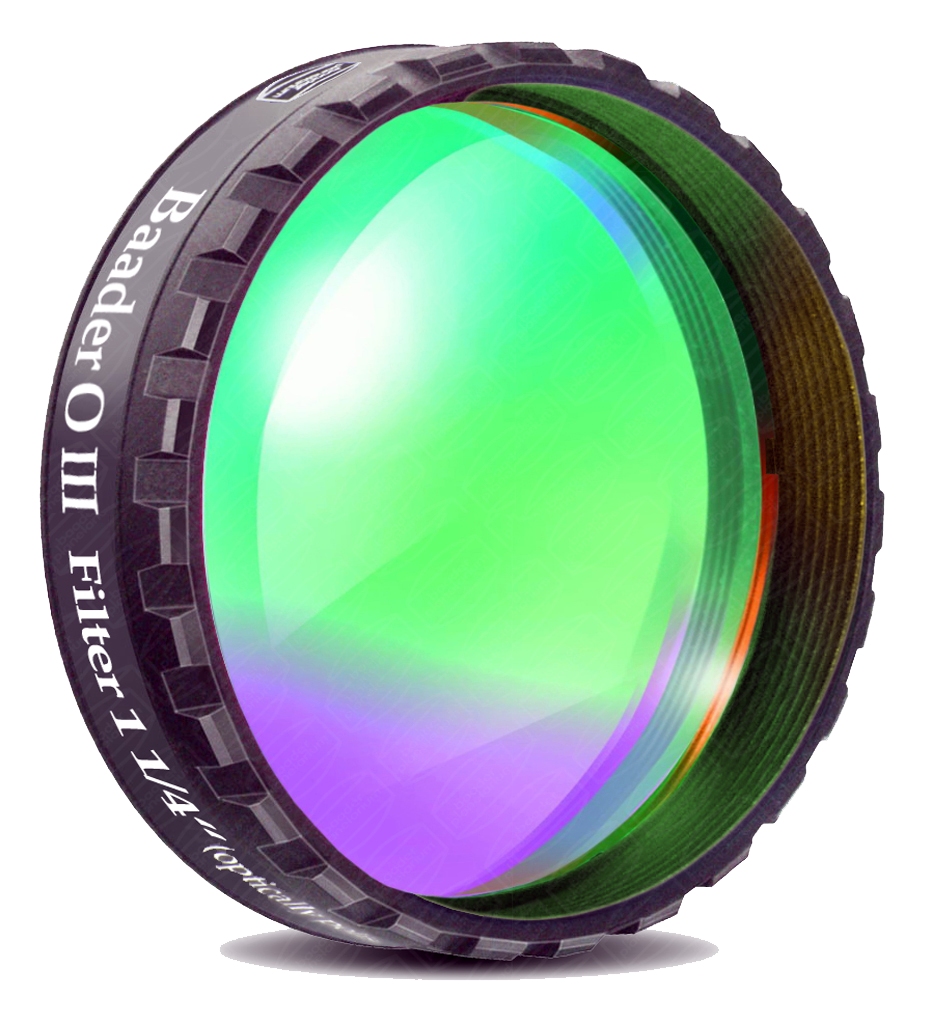 Filtre Baader O III 8nm HBW filetage 50,80mm (M48)