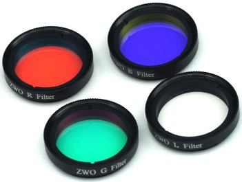 Lot de 4 filtres L-RVB 31,75mm interférenciels