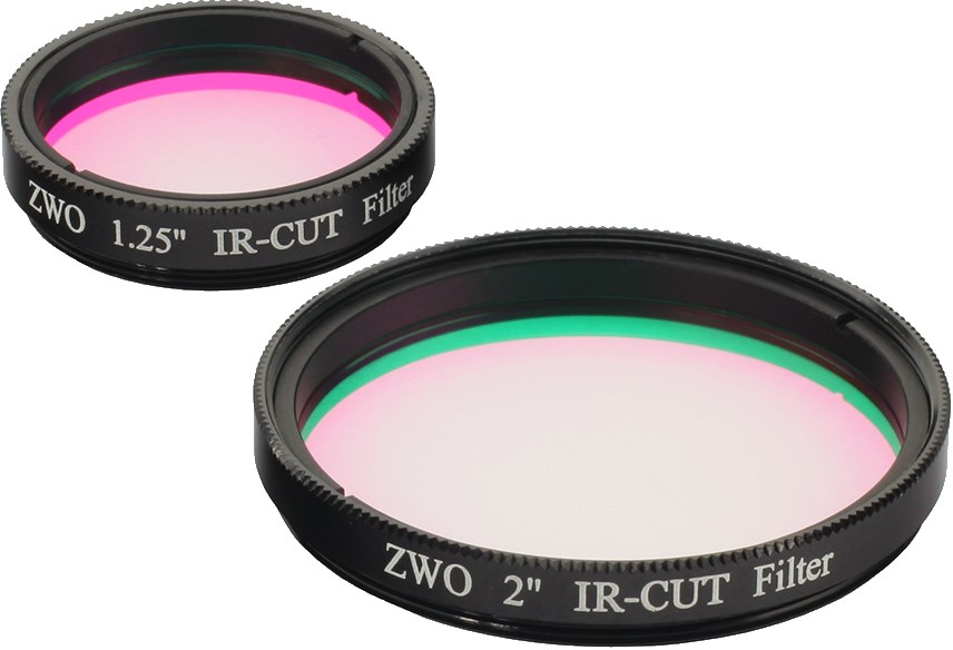 Filtre Anti-Infrarouges (IR-Cut / IR-Block) 50,80mm ZWO